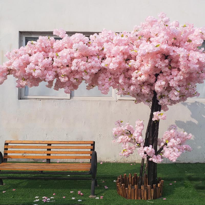 LED仿真桃花树